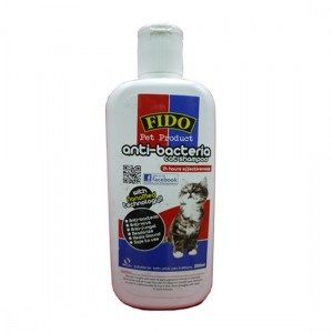 fido anti-bacteria cat shampoo